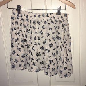 Bershka Flowery Skirt